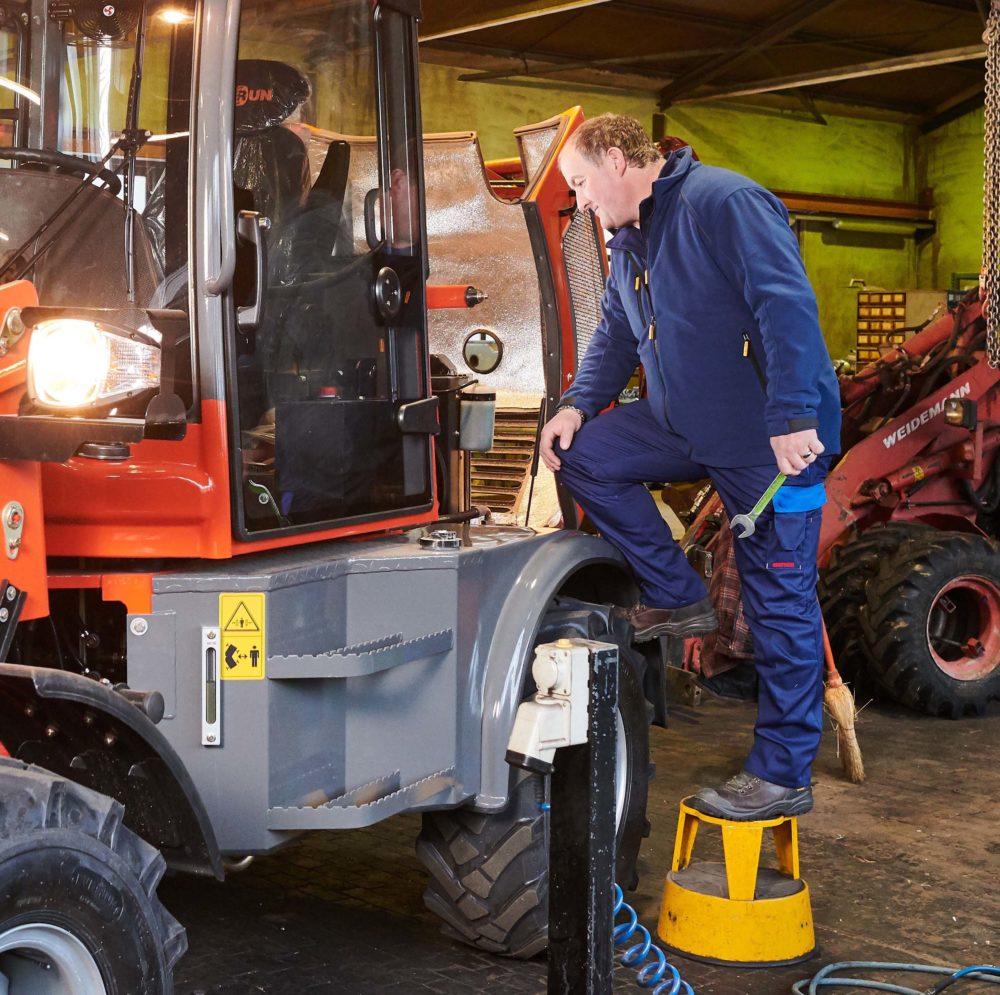 Arbeitshosen für den Mechaniker und Garagen